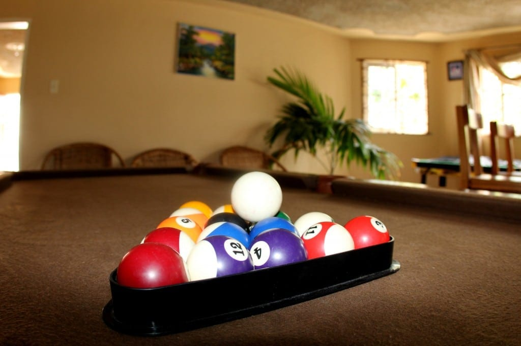 Private recreation room