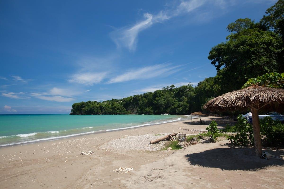 beach in Jamaica, Ocho Rios Jamaica