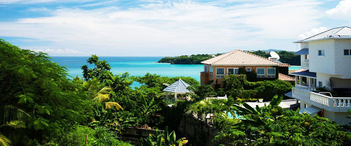 Jamaica Ocean View Villa  boast an alluring view of the Caribbean Sea