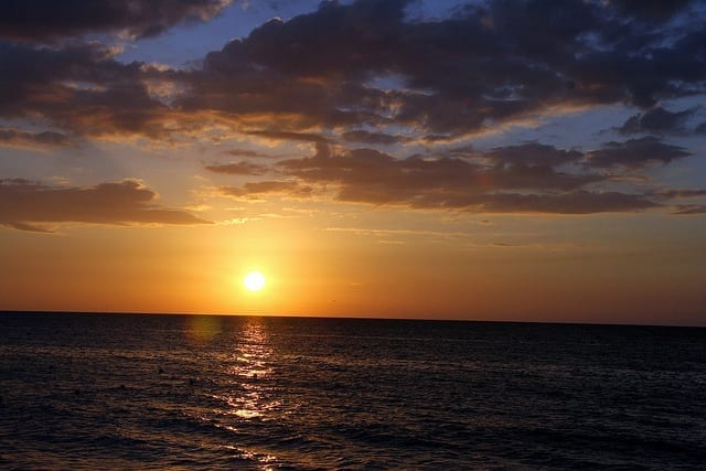 Pictures of sunsets in Jamaica 2