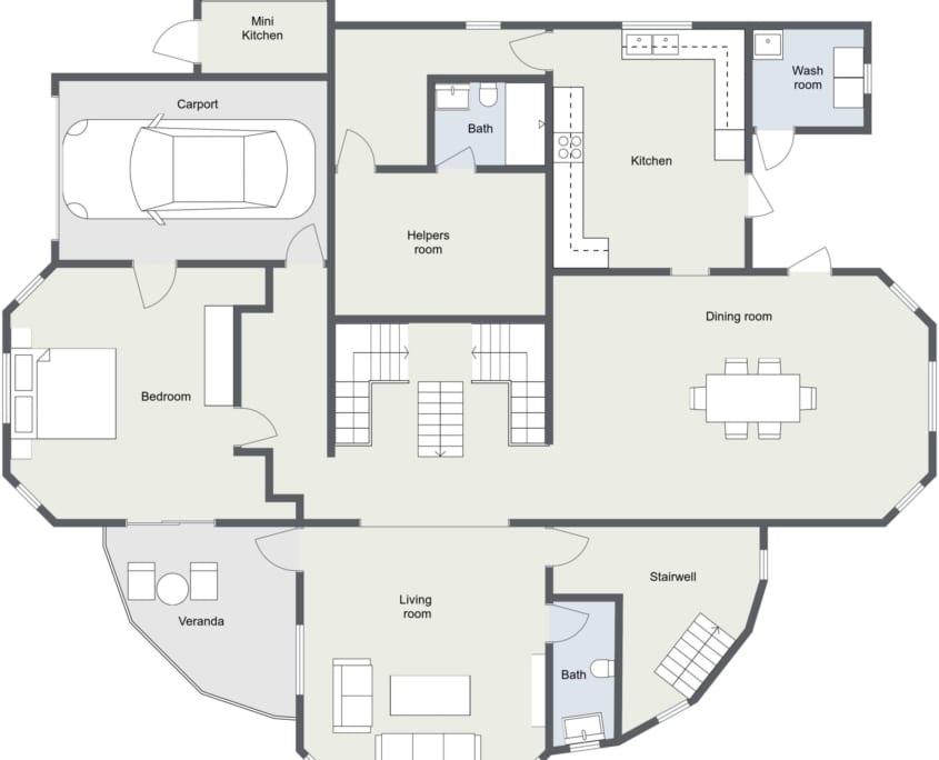 Jamaica Villa Floor Plan 6