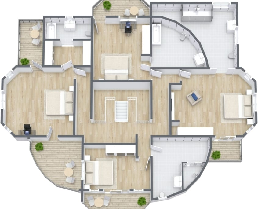 Jamaica Villa Floor Plan 3