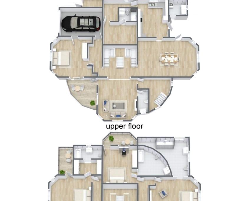 Jamaica Villa Floor Plan 4