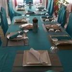 formal dining at Jamaica villa