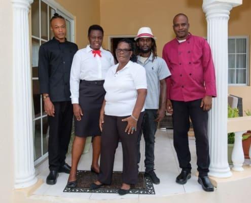 Jamaca villas with staff & chef