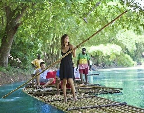 rafting in Jamaica- villa guests