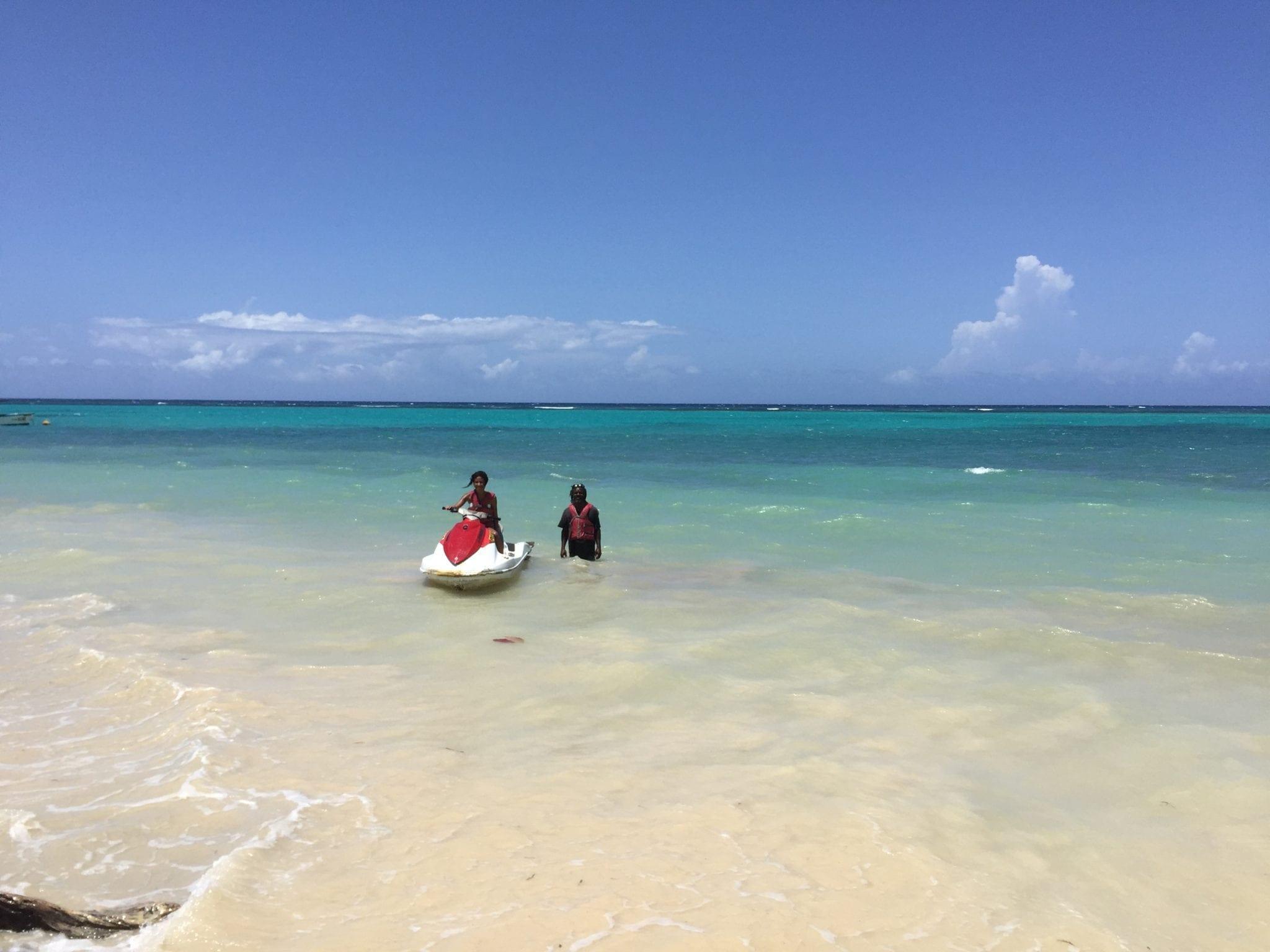 Jamaica water ski