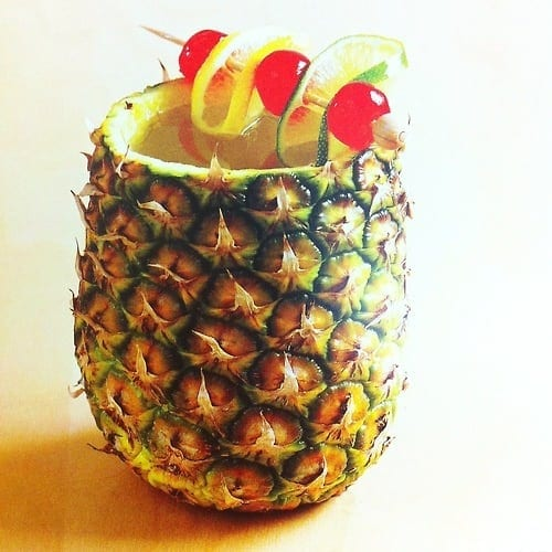 Jamaica rum punch