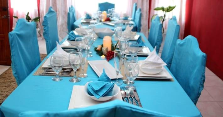 Dining in your private Ocho Rios Villa