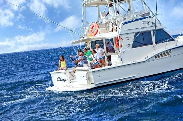 Deep sea fishing Ocho Rios Jamaica