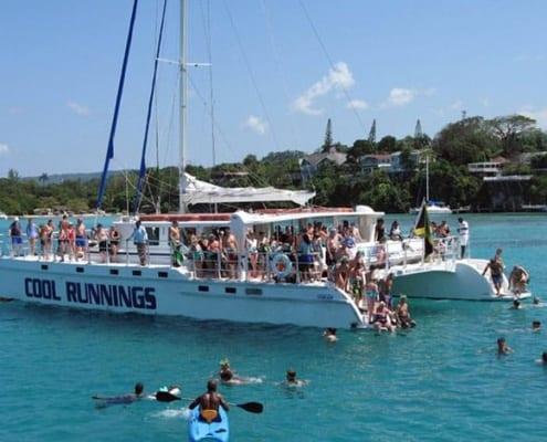 catamaran crusie Ocho Rios Jamaica