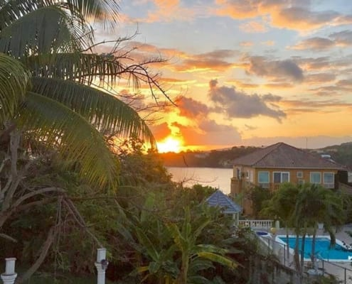 Sunrise View from Ocho Rios Villa