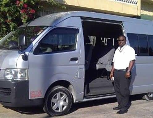 Jamaica villa airport transfers