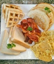 Breakfast at your villa in Jamaica