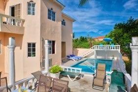 Private swimming pool at your villa in Ocho Rios Jamaica