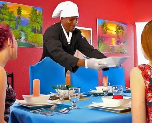 Jamaica villa with chef