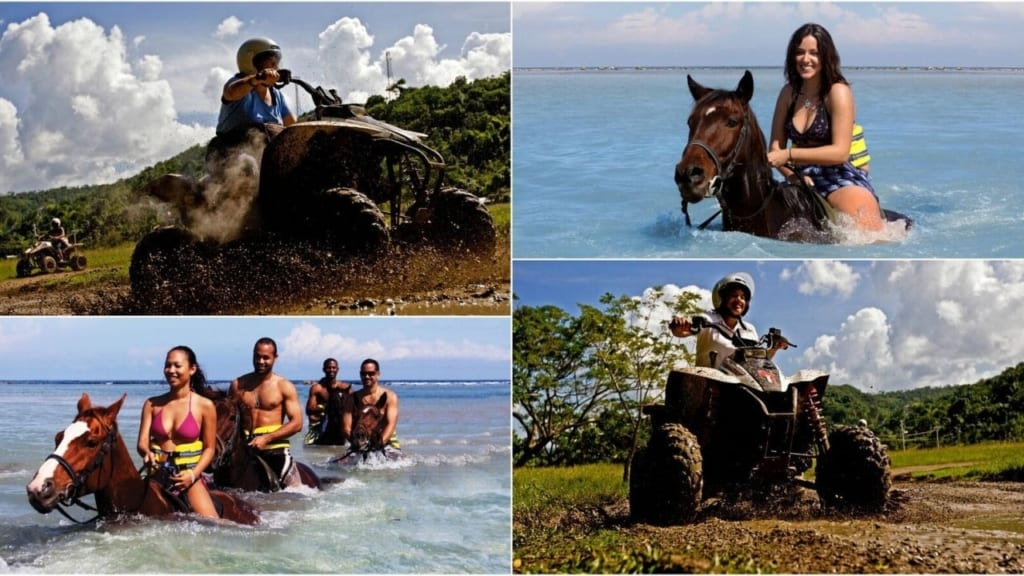 Ocho Rios Jamaica Horseback Riding Combo