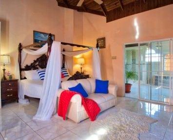 Jamaica villas Master bedroom