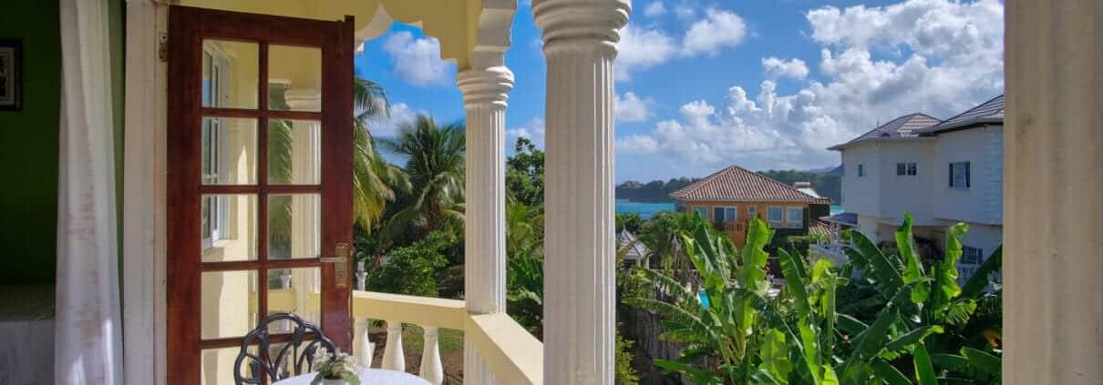 Jamaica villa with ocean view