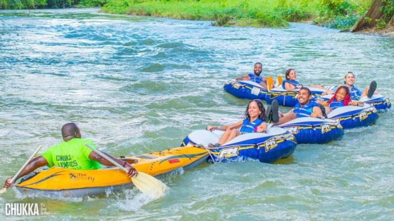 White river tubing in Ocho rios