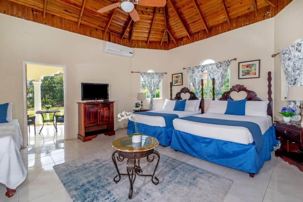 Jamaica villas double bedroom- 5 bedroom villa