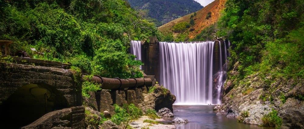 Jamaica villas water falls in Jamaica