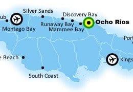 Jamaica Resort areas for Luxury Villas of Ocho Rios, Jamaica