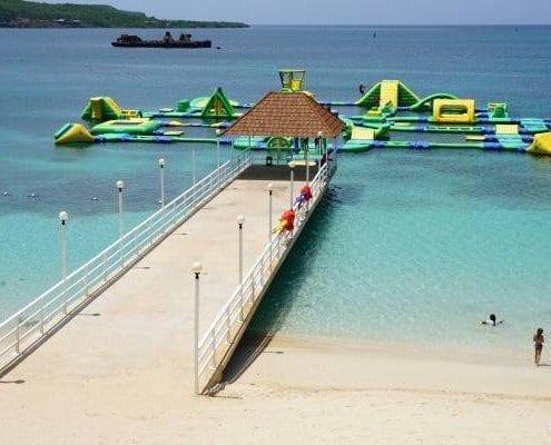 Jamaica villa beach club access