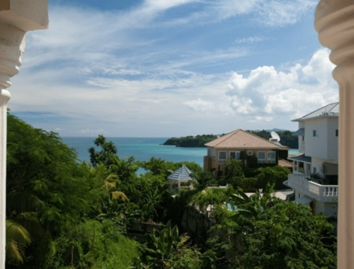 Jamaica beach villa rental