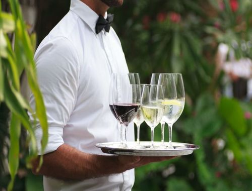 All-inclusive villas with butler service