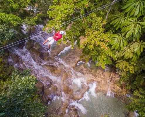 Jamaica zip lining activities