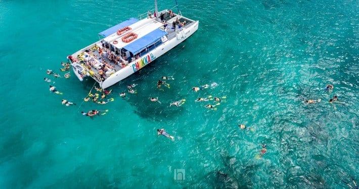 Jamaica villa Catamaran cruise
