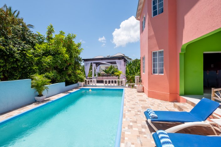 villa in Jamaica with private pool