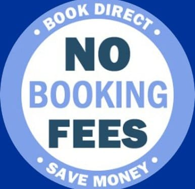 book direct and pay no fees